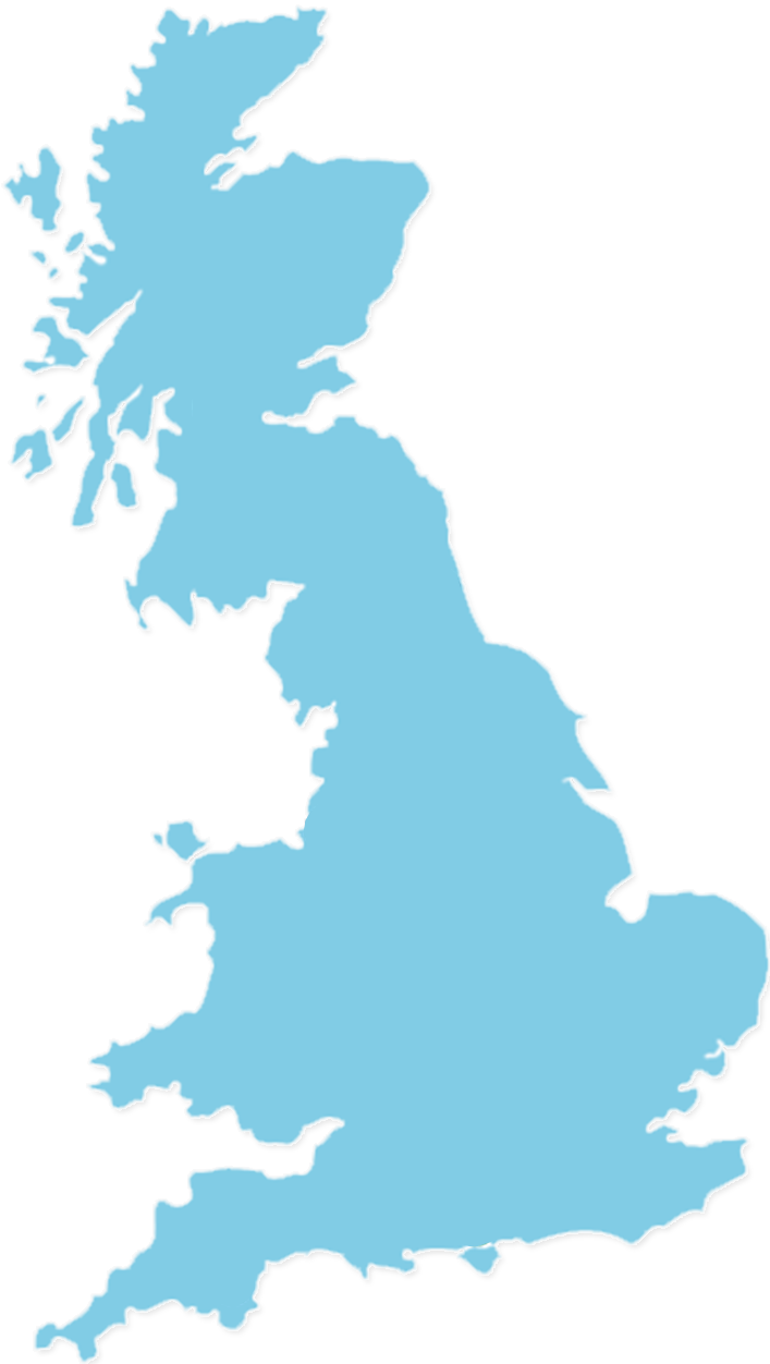 UK Map Outline - Midshires Mobility Group